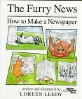 The Furry News: How to Make a Newspaper (Reading Rainbow Books) by Loreen Leedy