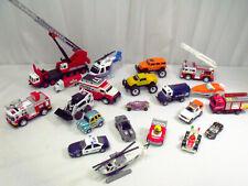 LOT of 20 ERTL, TOY STATE, MATTEL Many Die-Cast model vehichles