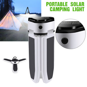 USB Rechargeable LED Solar Outdoor Camping Light 5 Mode Portable Lamp Waterproof