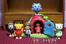 Daniel Tiger's Neighborhood Friends Owl Prince Miss 5pcs Action Figure Doll Toys