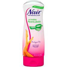 Nair Hair Aloe & Lanolin Infused Leg Bikini Hair Removal Lotion 9.0 oz