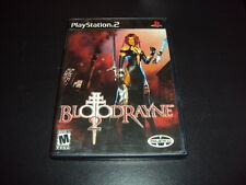 """BloodRayne 2 """"Great Condition"""" PlayStation 2 Complete PS2"""