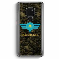 Kasachstan Kazakhstan Camouflage mit Schriftzug Huawei Mate 20 Hülle Motiv De...