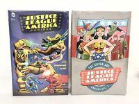 Justice League of America JLA Omnibus Volume 1 & 2 DC Comics Set HC New Sealed