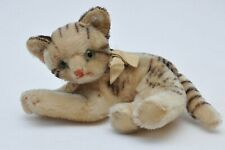 VINTAGE FIFFY STEIFF CAT with LABEL TAG