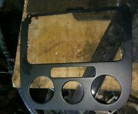 VW GOLF  2006 CENTRE CONSOLE HEATER CONTROL TRIM PANEL 1K0858071