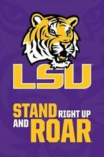 LOUISIANA STATE UNIVERSITY TIGERS ~ LSU STAND ROAR LOGO 22x34 NCAA