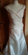 Brautkleid  Hochzeitskleid mit Corsage in creme Größe 36 ☆☆☆Top☆☆☆
