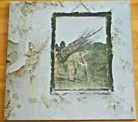 Rare Led Zeppelin Gatefold Lp Uk Pressing k50008 A2/B2 Ex +Loricraft Pack!