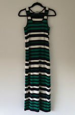 Marcs Size Small Womens Stripe Jersey Maxi Dress