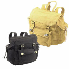 Outback Australia RSW3 Old School Retro Canvas Backpack Black