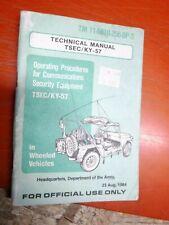 TM 11-5810-256-OP-3 COMMUNICATIONS SECURITY EQUIPMENT OPERATING MANUAL TSEC/KY57