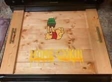 Custom made Wooden stove top cover Noodle Board Handpainted with Winnie Pooh