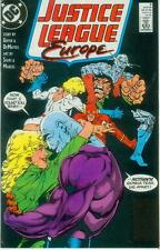 Justice League Europe # 5 (Keith Giffen) (USA, 1989)