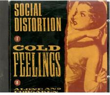 Social Distortion, Cold Feelings; 2 track Promo CD