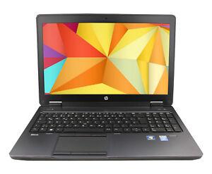 HP zBook 15 Core i7-4800QM QUAD 8GB 256Gb SSD+750GB 1920x1080 IPS nVidia K2100 B