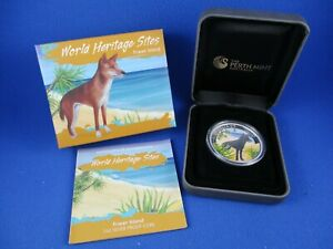 2013 WORLD HERITAGE SITES - FRASER ISLAND - 1oz Silver Proof Coin