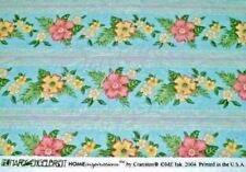 Mary Engelbreit BARKCLOTH Flower Fabric Designer Drape Upholstery Home DEC  BTY