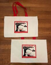 Vintage 90's Bag Tote Shopping Canvas Children's Book of the Month Club