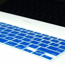 ROYAL BLUE Silicone Keyboard Cover for Macbook White 13