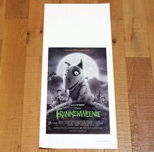 FRANKENWEENIE locandina poster affiche Tim Burton Walt Disney Stop Motion AC22