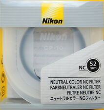 Nikon 52mm NC (neutral Color) Filter UPC 18208 02479 7 Made in Japan Genuine