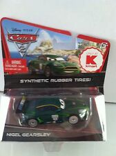 Disney Pixar CARS 2 NIGEL GEARSLEY Kmart Exclusive Synthetic Rubber Tires Day 7