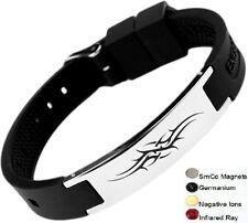 Tatoo Magnetic Energy Germanium  Power Bracelet Health 4in1 Bio Armband BAND