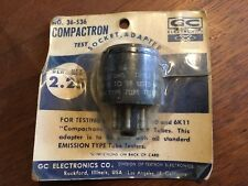 6C10 6D10 6K11 Compactron Tube Tester Adapters