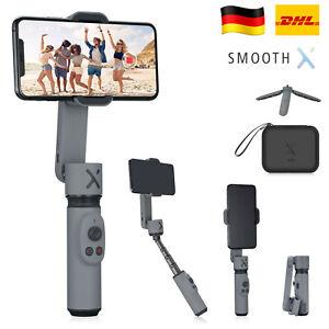 Zhiyun Smooth X Smartphone iPhone Gimbal Stabilisator mit Stativ und Tasche