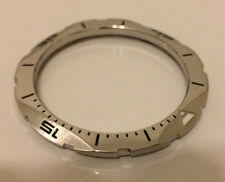 Steel Custom Bezel for Vostok Amphibian Komandirskie Polished/Brushed Combo