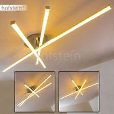 Plafonnier LED Design Lampe de séjour Lampe à suspension Luminaire Chrome 144480
