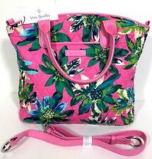 New Vera Bradley Tropical Paradise Casual Satchel Shoulder Hand Bag Tote Purse
