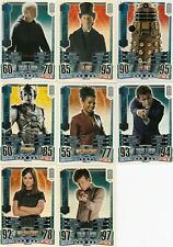 Doctor Who Alien Attax 50th CCG Complete 152 Card Set In Binder TOPPS 2013