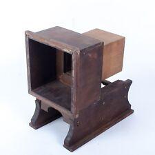 Antique Wood Studio Camera Rear Parts