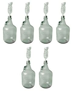 1 gallon demijohn/carboy, pack of 2, 4 & 6, or OPTIONAL accessories
