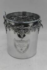 MOET CHANDON Cuvee Dom Perignon Vintage Embossed Aluminium Champagne Ice Bucket