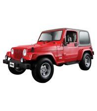 1/18 Burago Jeep Wrangler Sahara oro