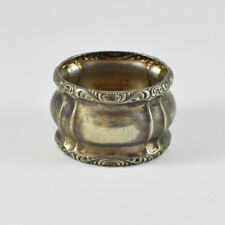 Kraft Alpacca Napkin Ring - Silver Plated - Vintage Old