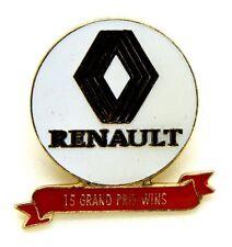 Pin Spilla Renault - 15 Grand Prix Wins