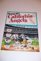 1971 CALIFORNIA ANGELS Complete TEAM Set 24 Cards Stamp Album JIM FREGOSI