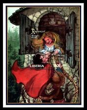 SELLOS TEMA CUENTOS. LIBERIA 1998 HB 160 RAPUNZEL