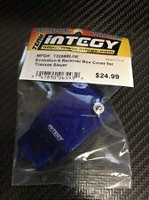 Integy Aluminum Alloy Receiver Box Cover for Traxxas 1/10 Nitro Slayer Truck Bl