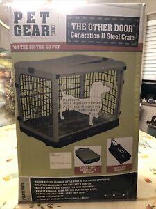 Pet Gear Inc The Other Door Generation II Steele Crate