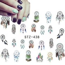 Nail Art Sticker Water Decals Transfer Stickers Indian Dreamcatchers (438)