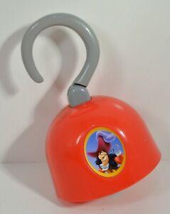 """RARE 2004 Captain Hook 6.5"""" McDonald's EUROPE Cosplay Toy Disney Peter Pan"""
