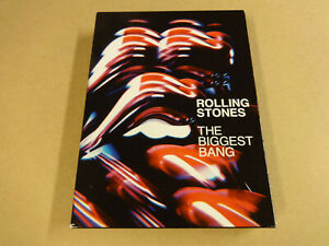 4-DISC MUSIC DVD BOX / ROLLING STONES - THE BIGGEST BANG