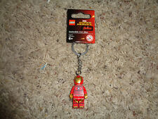 LEGO SUPER HEROES IRONMAN KEY CHAIN, NWT, CAN DISCONNECT & USE AS FIGURE 853706