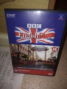 BBC English Plus 18 DVD VGC DMP Polish? Rare