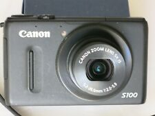 CANON POWERSHOT S-100 12.1 MP DIGITAL CAMERA, SEE DESCRIPTION